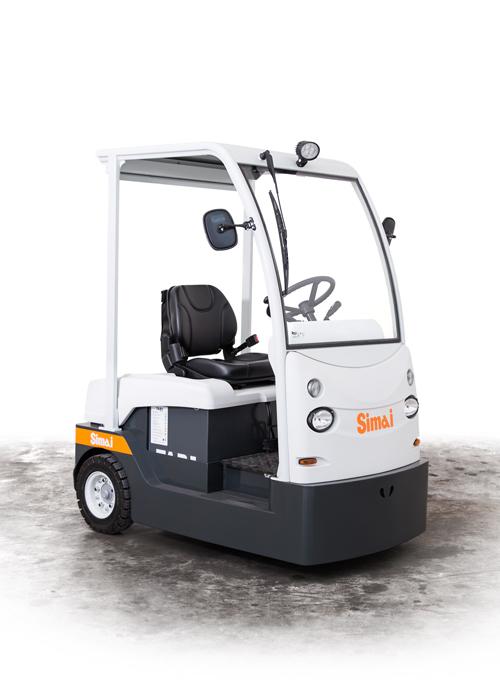 Tracteur électrique à 3 roues TTE71